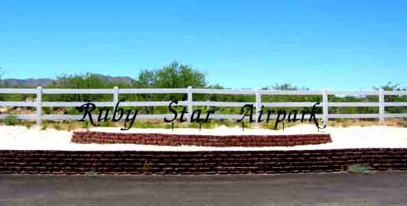 Ruby Star Entrance Sign